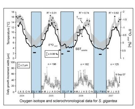Oxygen isotope variation